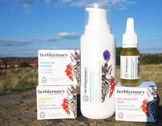 Herbfarmacy Skincare Review - Exfoliating Cleanser, Skin Rescue Balm, Mallow Beauty Balm, Whole Body Lotion and Nail & Cuticle Oil
