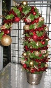 Grinch Tree! I want to make a small version.