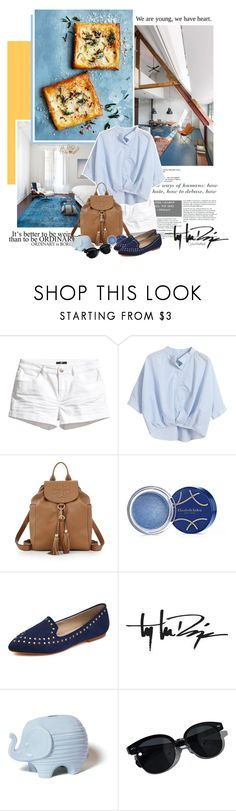 """""""The Story"""" by color-me-red ❤ liked on Polyvore featuring H&M, Chicnova Fashion, Tory Burch, Elizabeth Arden, Troy Lee Designs, Jonathan Adler, Oliver Peoples, women's clothing, women and female"""