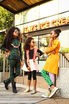 Credits:   Brands: MOLO (@molo) , Lola + The Boys (@lolaandtheboys), Hannah Banana (@my.hannahbanana), & WAUW CAPOW (@wauwcapow) Accessories: Pop Girl Poms @popgirlpoms Glasses: @hennyandcoco Glitter Gel: @galexieglister Creative Director / Stylist:  (Ronia Coats @viva.la.femme / @style.and.pop Glam By : Tristan Blake (@tristanblakecollection) Photographer: Reef Morton (@uptowngirlphoto) Videographer: (@wisenative)