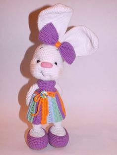 Cute Easter Bunny Crochet FREE Pattern