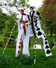 Elegance Stilt Walkers - Venetian Masked Entertainment