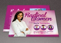 Radical Women Church Flyer Template by loswl on @creativemarket