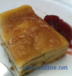 Easy French toast bake - upside down!