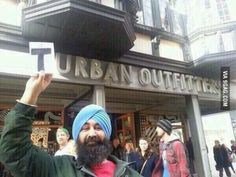Hipster Sikh was wearing turbans before it was cool