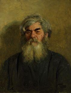 'Boer met slecht oog', 1877 / Ilja Repin (1844-1930) / Tretjakovgalerij, Moskou.