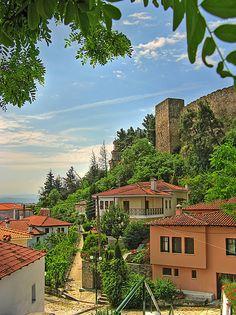 Trikala, Greece. This is where my family is from. Varousi - Old City of Trikala www.hostelmeteora.com