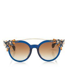 300af88354 Jimmy Choo VIVY - Women s Fashion - Eyewear - Ad Oversized Aviator  Sunglasses