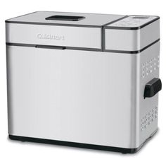 The Cuisinart CBK-100 2 LB Bread Maker offers the option for you to make bread ranging in size from 1 to 1 ½ to 2 pounds. You can choose the crust setting for your preference of light all the way to a darker crust if you prefer.