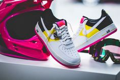 the latest 54092 92e3c Nike w air force 1  07 se moto   white-yellow-black   at2583-100 ds trainers