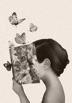 """bibliolectors: """" Todo un verano para sumergirse en la lectura! (ilustración de Marco Palena) """""""