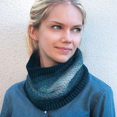 Onami Ombre Cowl Kit at Knit Purl in Portland.