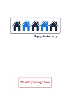 Greetings card for estate agents to send to clients on the greetings card for estate agents to send to clients on the anniversary of their move reference number rnh04 greetings pinterest anniversaries and m4hsunfo