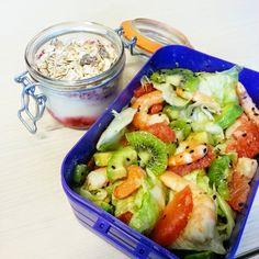 Les p'tits plaisirs d'Emma: Dans ma lunchbox - Salade rafraichissante
