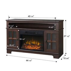 26 best best electric fireplace tv stand images electric fireplace rh pinterest com