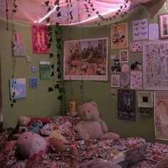 Indie Bedroom, Indie Room Decor, Cute Bedroom Decor, Room Design Bedroom, Aesthetic Room Decor, Room Ideas Bedroom, Bedroom Inspo, Chambre Indie, Fairy Room