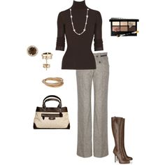 """""""Brown"""" by vintagesparkles78 on Polyvore"""