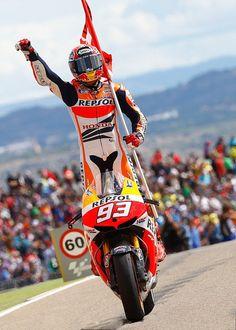 Marc Marquez Wins Aragón
