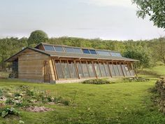 MAD # 03 (Sustainable Autonomous House) by archestra Building Green Homes, Building A House, Tiny House Cabin, Tiny House Plans, Cabin Design, House Design, Earth Bag Homes, Earthship Home, Permaculture Design