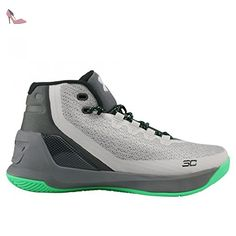 best service 22ab0 6c631 ... Curry 3 Kids, gris, EU 37.5   US 5Y - Chaussures under armour ...