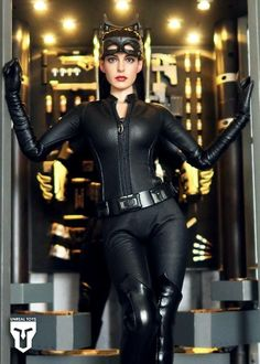 Catwoman Looking for a cosplay girl to play with a msrtied male Catwoman Cosplay, Batman And Catwoman, Batman Cat, Anne Hathaway Catwoman, Anne Jacqueline Hathaway, Batwoman, Fantasy Girl, Celebs, Celebrities