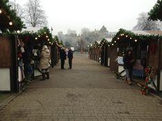 One frosty morning at Windsor ice rink's Christmas market ... brrrrr!