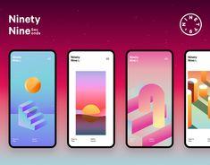 Ninety Nine Seconds – Game Prototype Mobile App Design, Mobile Ui, Mobile Project, Event Poster Design, Phone Mockup, Ui Design Inspiration, Ui Ux Design, Graphic Design, User Interface Design