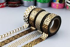 4 rollen Washi Tapes Japanse Washi Tape Masking Tape door mieryaw