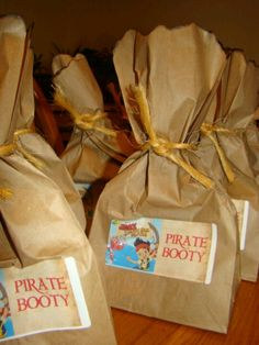 Pirate booty #PartyPacks!