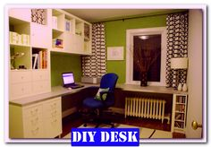 http://theofficedesigns.net/uncategorized/diy-home-office-desk-pinterest-with-pc-sets/ - Diy Home Office Desk Pinterest With PC Sets