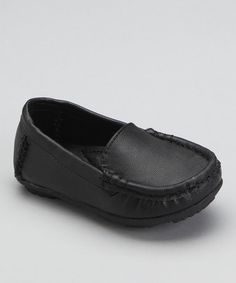 Take a look at this Black Driving Loafer by China Doll on #zulily today! #fall