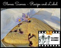 Star Wars Clones Scones Recipe and Printable Label - The Clone Troopers favorite food. Printable Star, Printable Labels, Food Labels, Printables, Star Wars Food, Star Wars Clone Wars, Star Wars Party, Scones, Good Food