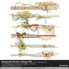 Readymade Borders: Vintage No. 03