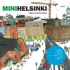 MiniHelsinki, a book for kids by Salla Savolainen