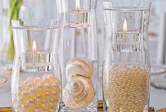 Pearls of Wisdom on itsabrideslife.com/Pearl Wedding Decor/Pearl Wedding Ideas