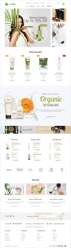 Organica is a wonderful responsive 6in1 #Prestashop theme for organic food, #beauty product or #cosmetics shop eCommerce websites download now➩ https://themeforest.net/item/organica-organic-beauty-natural-cosmetics-food-farn-and-eco-prestashop-theme/19216612?ref=Datasata