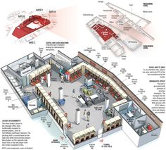 Inside the Red Sox Clubhouse. Graphic by Javier Zarracina and Chiqui Esteban