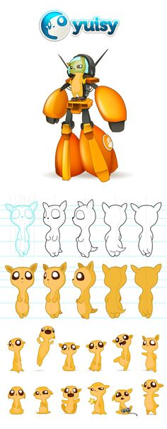 Character Design (2012-2013) on Behance
