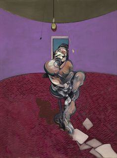 Portrait of George Dyer Talking / Francis Bacon / 1966