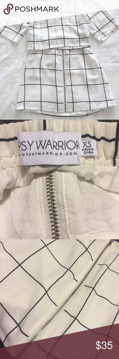 🆕 Gypsy Warrior skirt I have the top for sale too! Purchased at Pacsun. Waist has elastic PacSun Skirts Mini