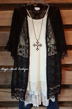 This cardigan will have all of your love so quickly from the second you look at it! And as if the embroidery and lace wasn't enough it has trim crochet all over it. The most beautiful cardigan we have