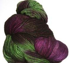 Malabrigo Worsted Merino Yarn - 239 - Sapphire Magenta - Large Photo at Jimmy Beans Wool