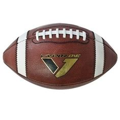 Nike Vapor One Football Tacky Leather for a Broken-in Feel First Football, Football Field, Men's Football, American Football, Football Equipment, Stanford Cardinal, Nike Vapor, Super Bowl, Youth