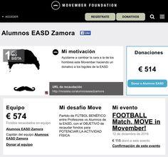 Finalizadas todas las actividades organizadas para conseguir fondos para la fundación #Movember , la recaudación final ha sido de 574 euros!!!!  ¡¡¡¡Felicidades a todos los alumnos/as de Diseño de Interiores porque habéis hecho un trabajo fantástico!!!!. Y gracias a todos los profesores y personas que han colaborado.
