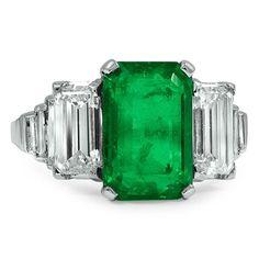 Natural emerald....