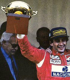 Piloto Ayrton Senna, McLaren Ford Cosworth, Mónaco 1993