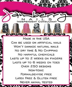 What makes Jamberry Nails stands out! ~Julie Jamberry Nails Ind Consultant www.Julie.JamberryNails.com