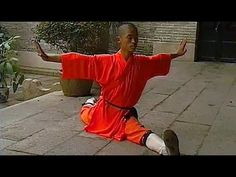Shaolin kung fu basic training 3 - YouTube