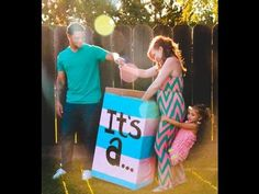 Our Exciting Gender Reveal Party!!