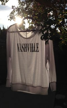 Nashville Long Sleeve www.licensetoboot.com comfy cute fall longsleeve nashville tennessee country